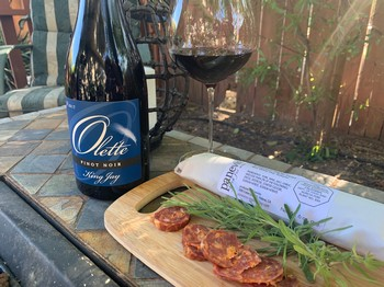 Pinot and Charcuterie Combo